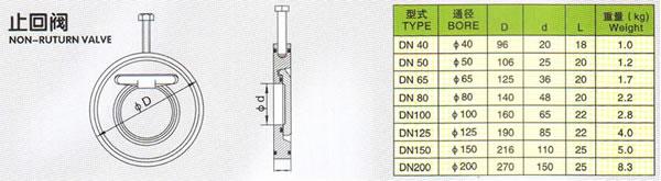non-ruturn valve
