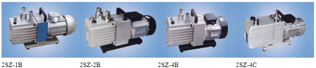 2SZ-B type straight spin piece rotary vane vacuum pump