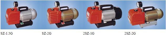 SZ-G type straight spin piece rotary vane vacuum pump